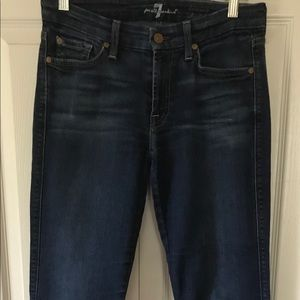 7 for all Mankind- straight leg jeans